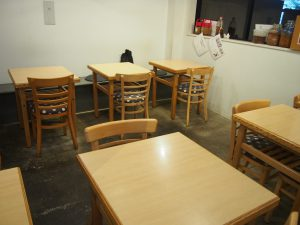 Seats of Komaki Syokudo Kamakura Fushikian