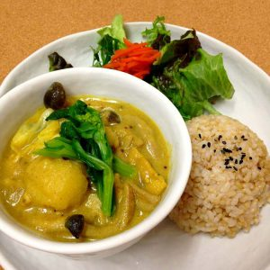 Spring Curry and Rice of Lima Cafe