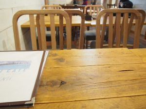 Table of UMI CAFE